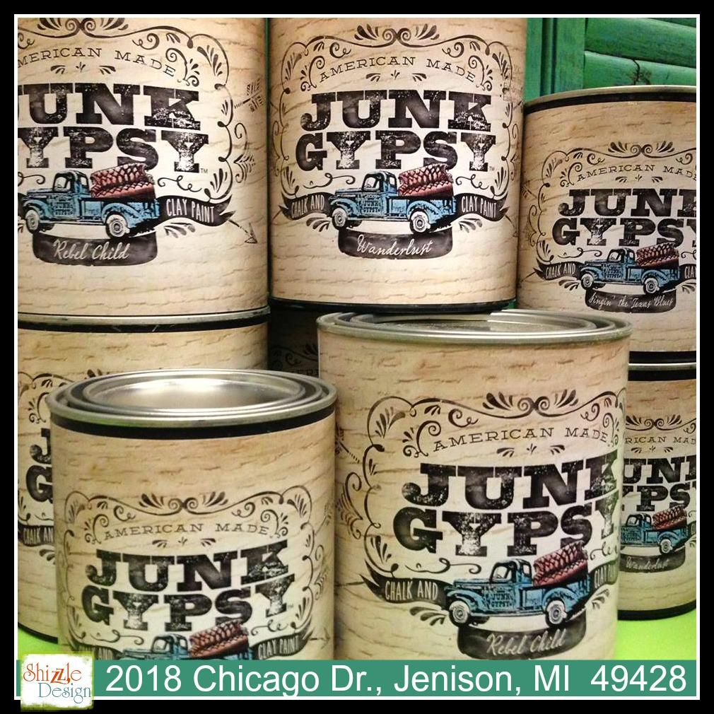 junk gypsy chalk clay paint where to buy shizzle design shop grand rapids michigan