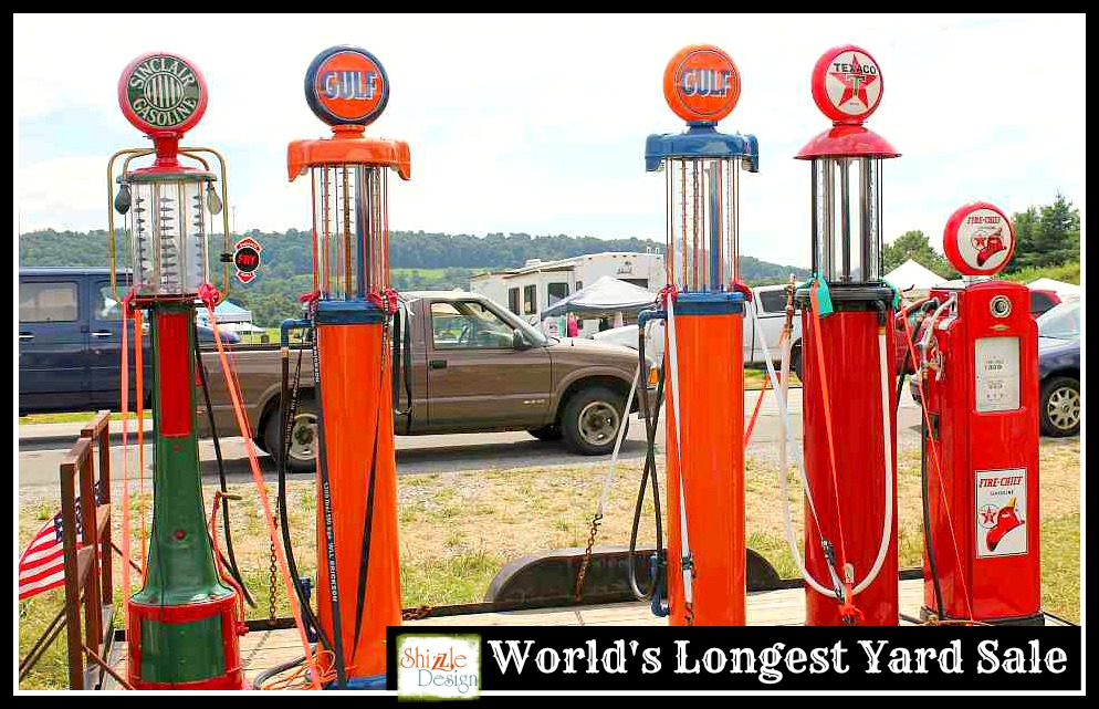 Shizzle Design | Pickin' The World's Longest Yard Sale on ...