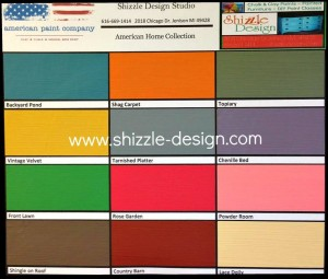 American Home Collection where to buy American Paint Company chalk and clay paint sale Shizzle design lowest best prices on sale Grand Rapids Michigan