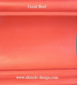 Coral Reef sample board shizzle design american paint company
