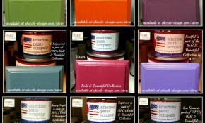 American Paint Company's Bold & Beautiful Color Collection of Chalk & Clay Paints