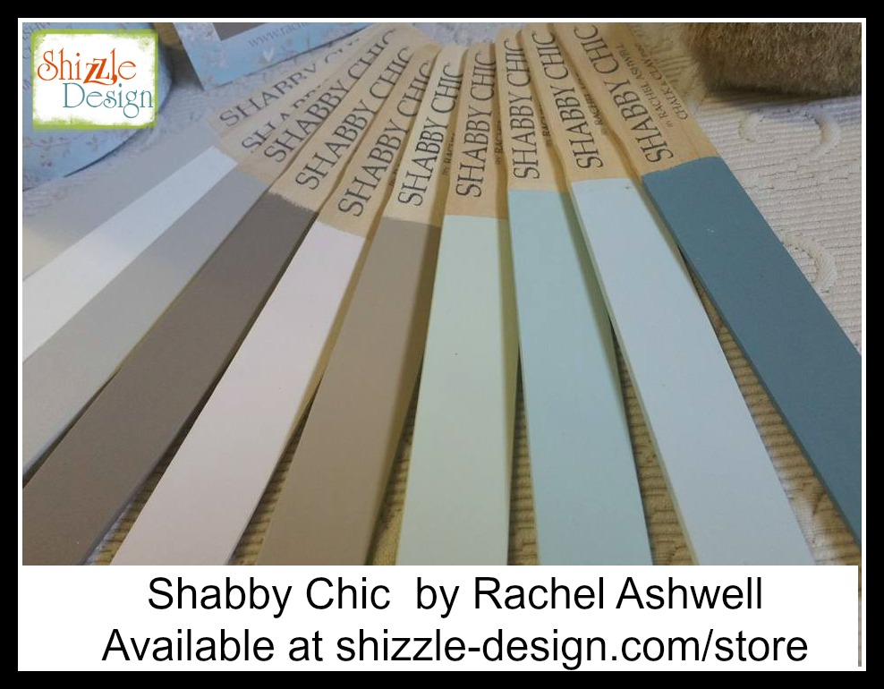 ... Dresser painted in Shabby Chic® Chalk & Clay Paint by Rachel Ashwell