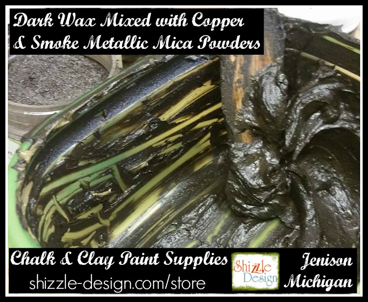 where to buy bronze copper gold silver pewter smoke metallic mica powders shizzle design grand rapids michigan