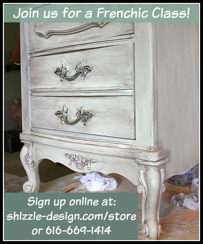 Frenchic Furniture Paint - best chalk paint class workshops shizzle design jenison grand rapids michigan 49428