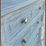 Frenchic Furniture Painted Furniture, Shizzle Design, gray, white wash, highboy, where to buy, chalk paint, grand rapids, MI, retailer, USA 2