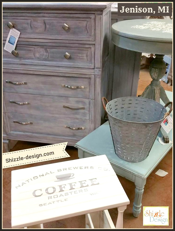 create a white wash finish the easy way on painted furniture shizzle design. Black Bedroom Furniture Sets. Home Design Ideas